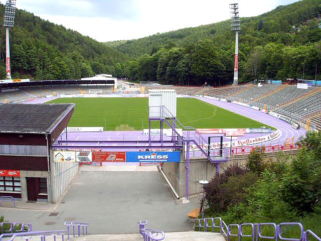 Erzgebirgsstadion des FCE