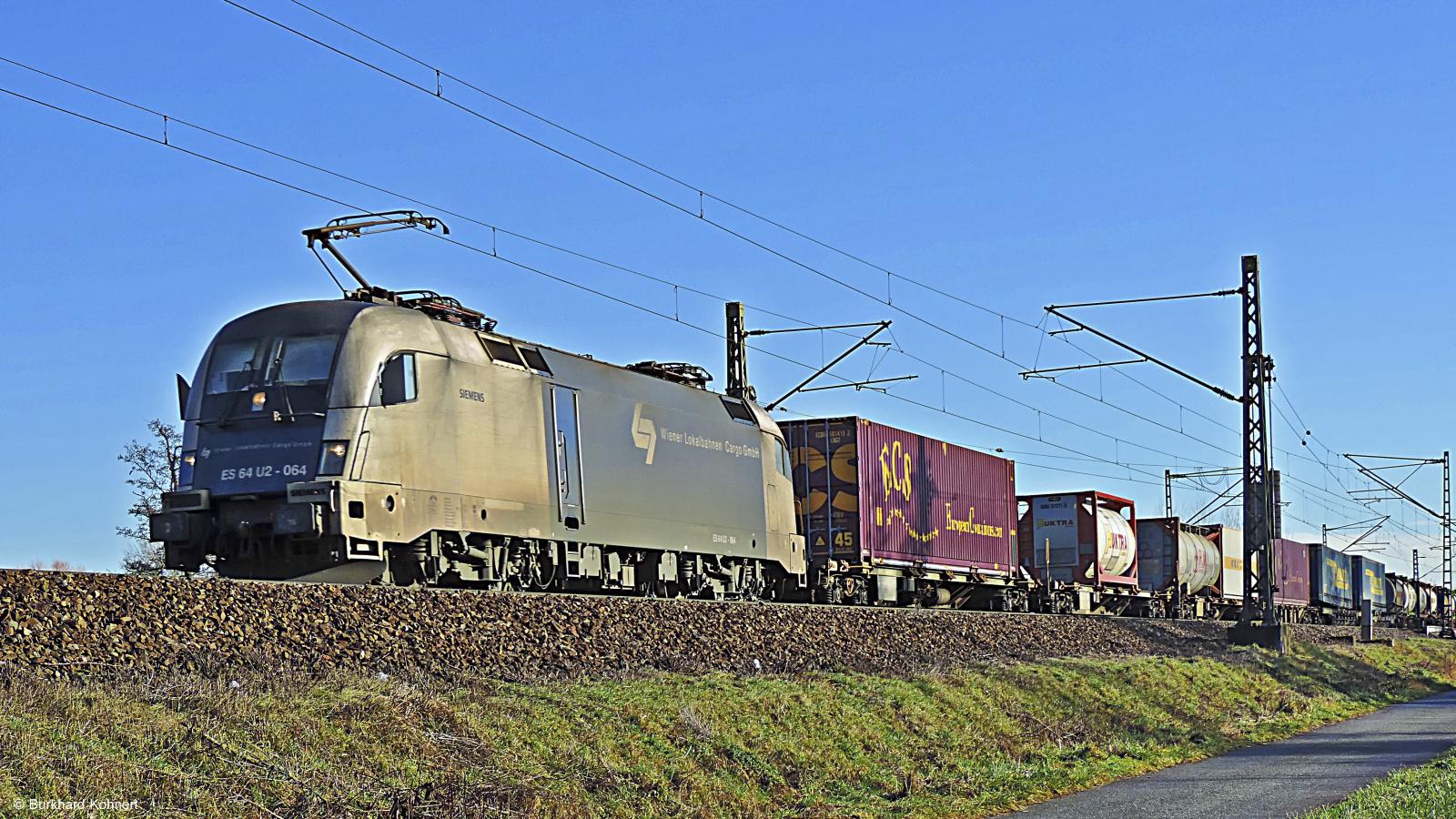 ES 64 U2-064 - Wiener Lokalbahnen Cargo GmbH