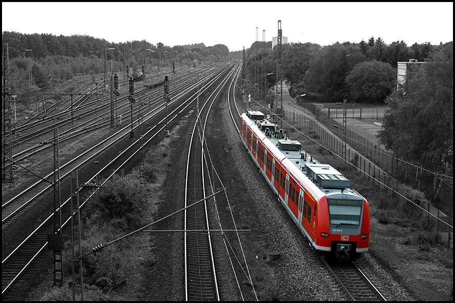 Es fährt ein Zug...... nach Hamm. ;-)