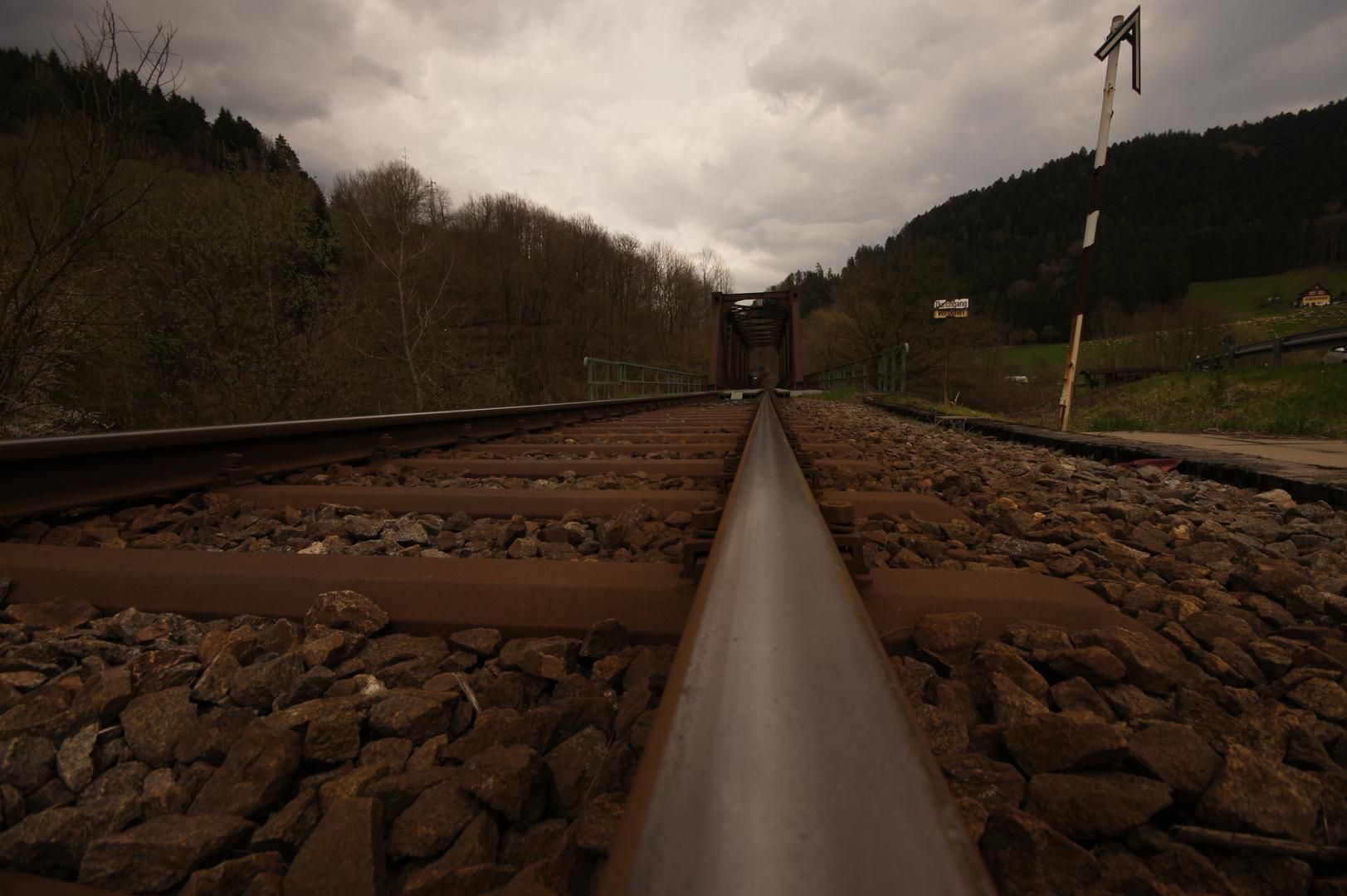 es fährt ein Zug nach irgend wo