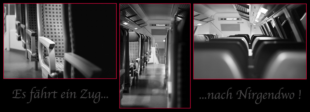 Es fährt ein Zug nach Nirgendwo.....