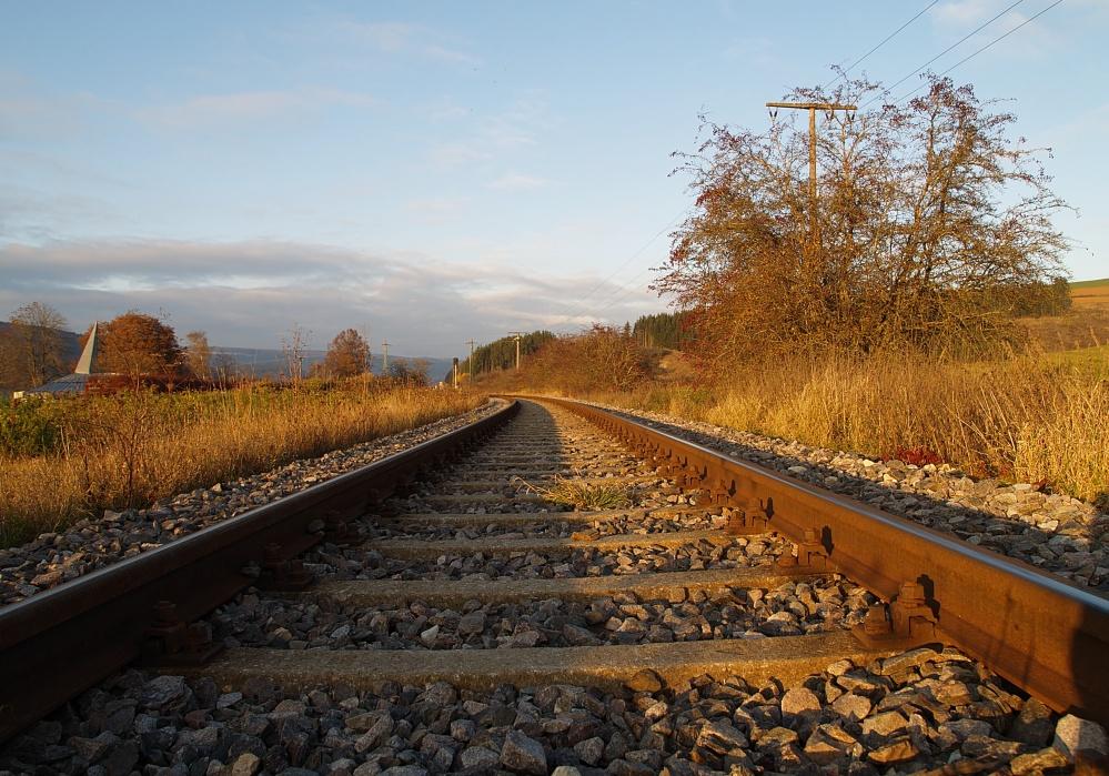Es fährt kein Zug ...