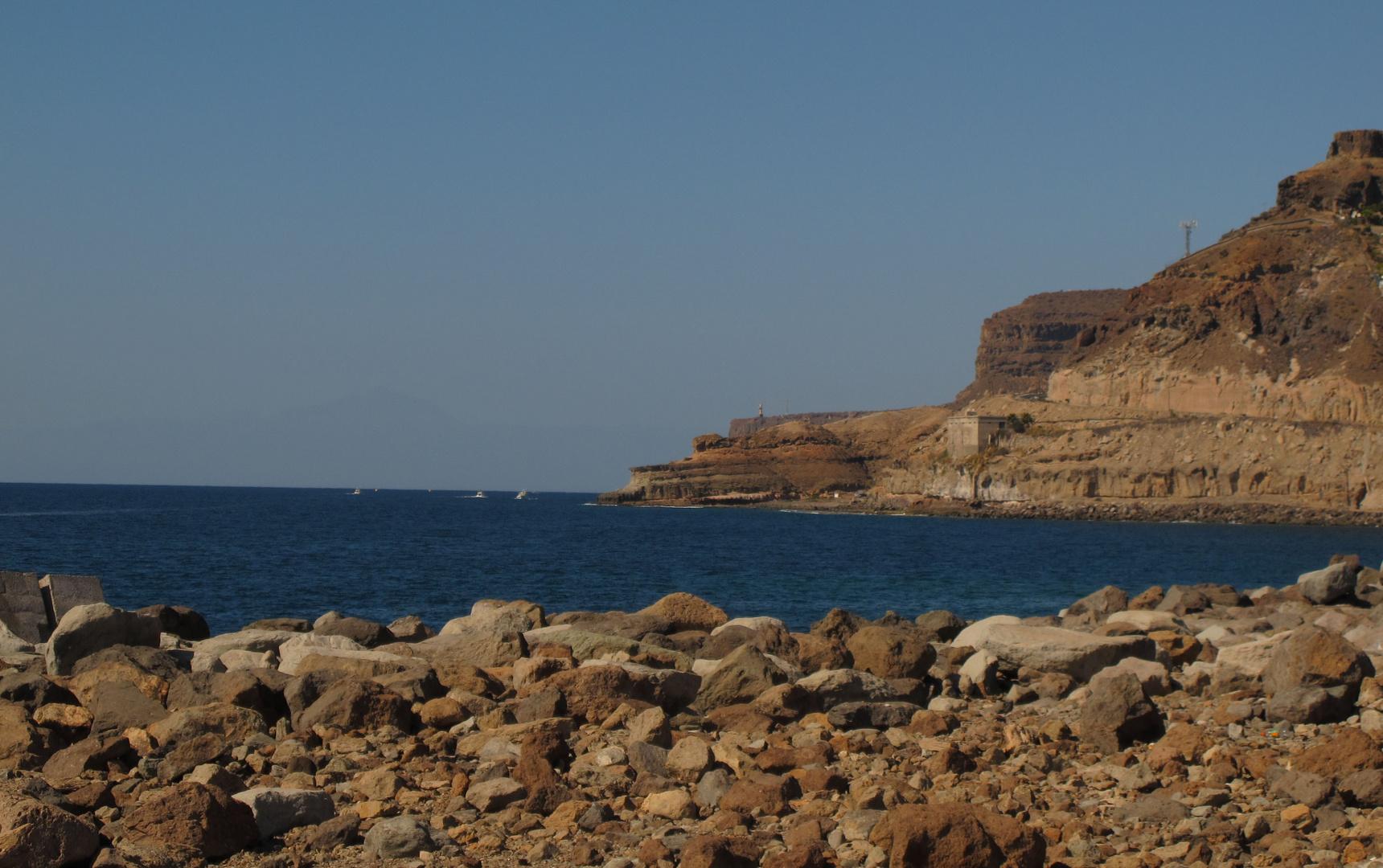 Es gibt auch noch ruhige Plätze auf Gran Canaria.