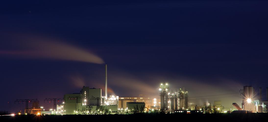 Es gibt auch vernünftige Industriebeleuchtung...