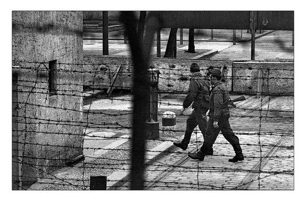 Es gibt Realitäten, denen grobes Korn und graue Düsternis angemessen ist. Berlin 1966.