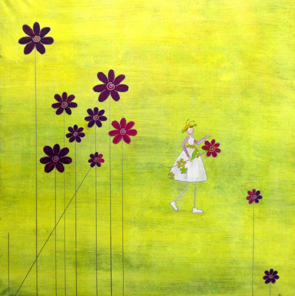Es gibt überall Blumen für den, der sie sehen will