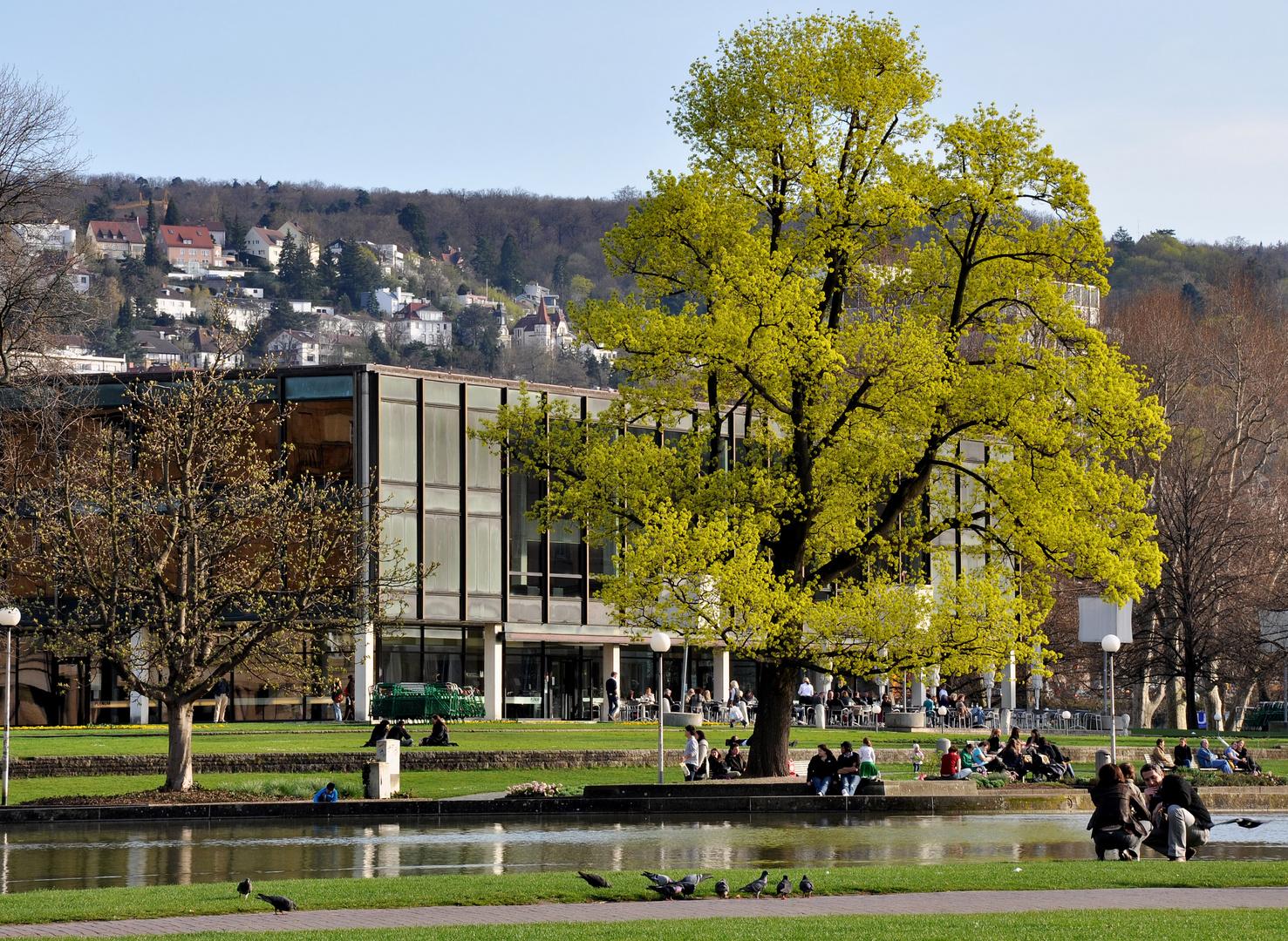 Es grünt am Stuttgarter Landtag :-)))