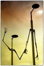 es grüßt die Dockland-Lampe