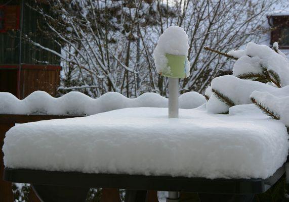 Es hat geschneit......
