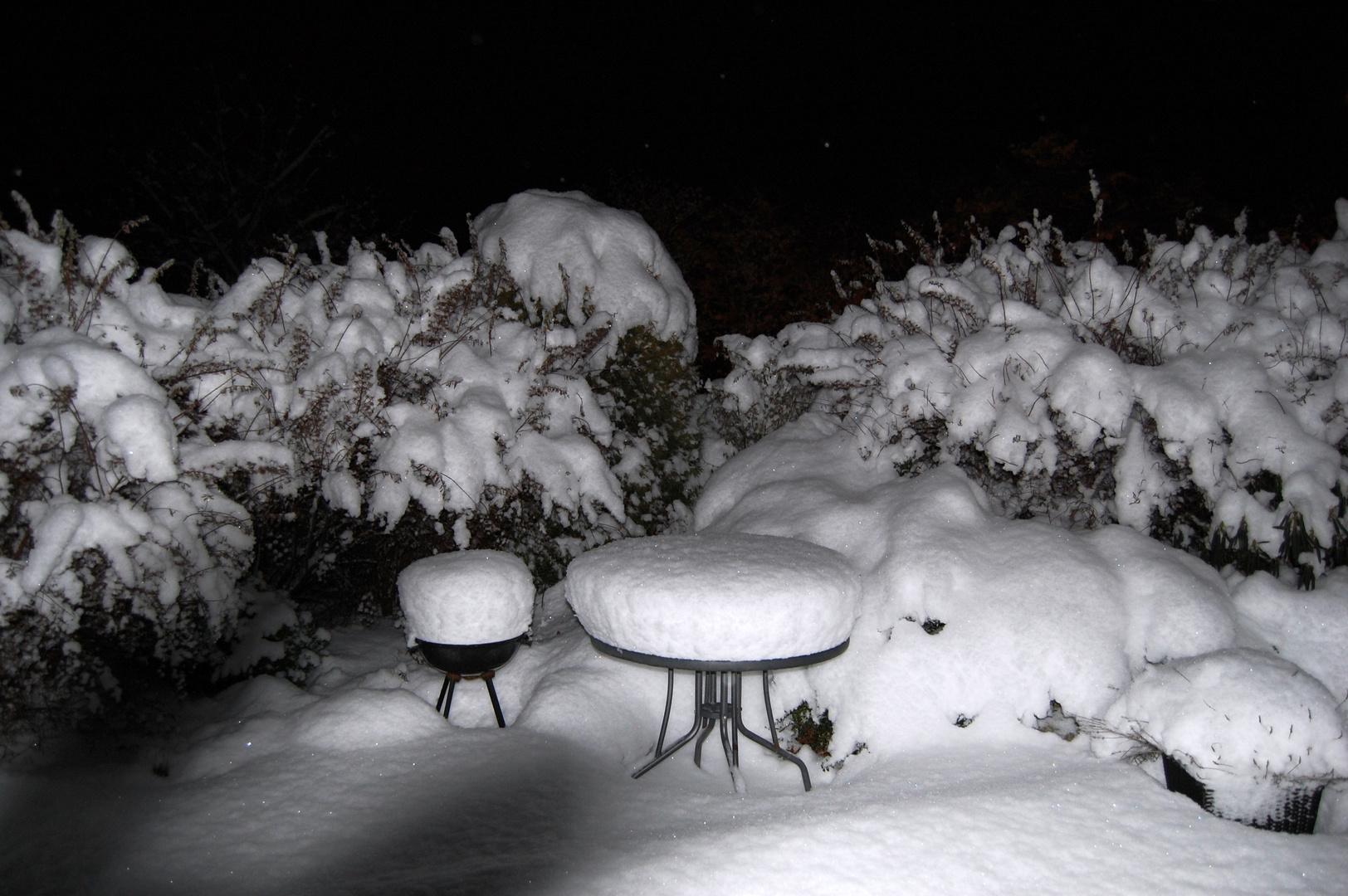 es hat wieder geschneit