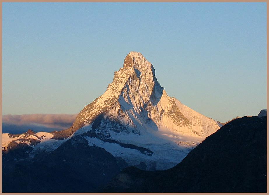 Es ist ja doch ein schöner Berg!