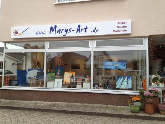 Es ist soweit - Atelier Marys-ART - Eröffnung