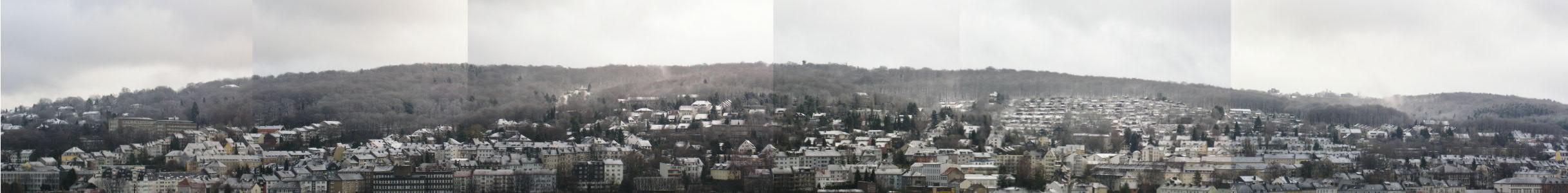 Es ist wieder Winter geworden in Wuppertal
