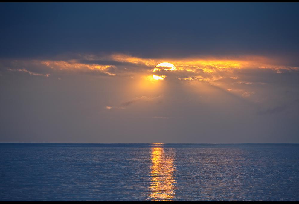 Es kann nicht jeden Tag die Sonne scheinen..:-(