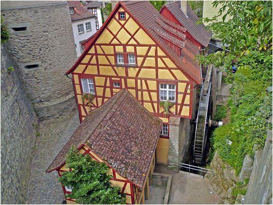 Es klappert die Mühle auch heute noch bei Meersburg - Bodensee