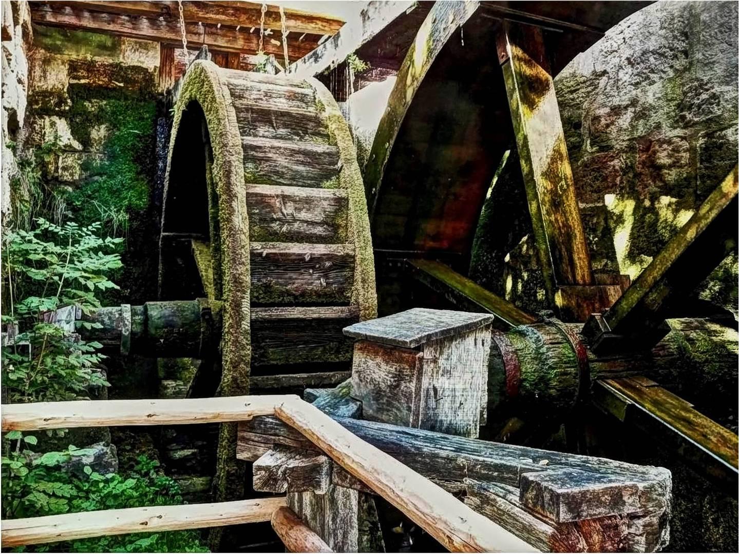 Es klapperte die Mühle...