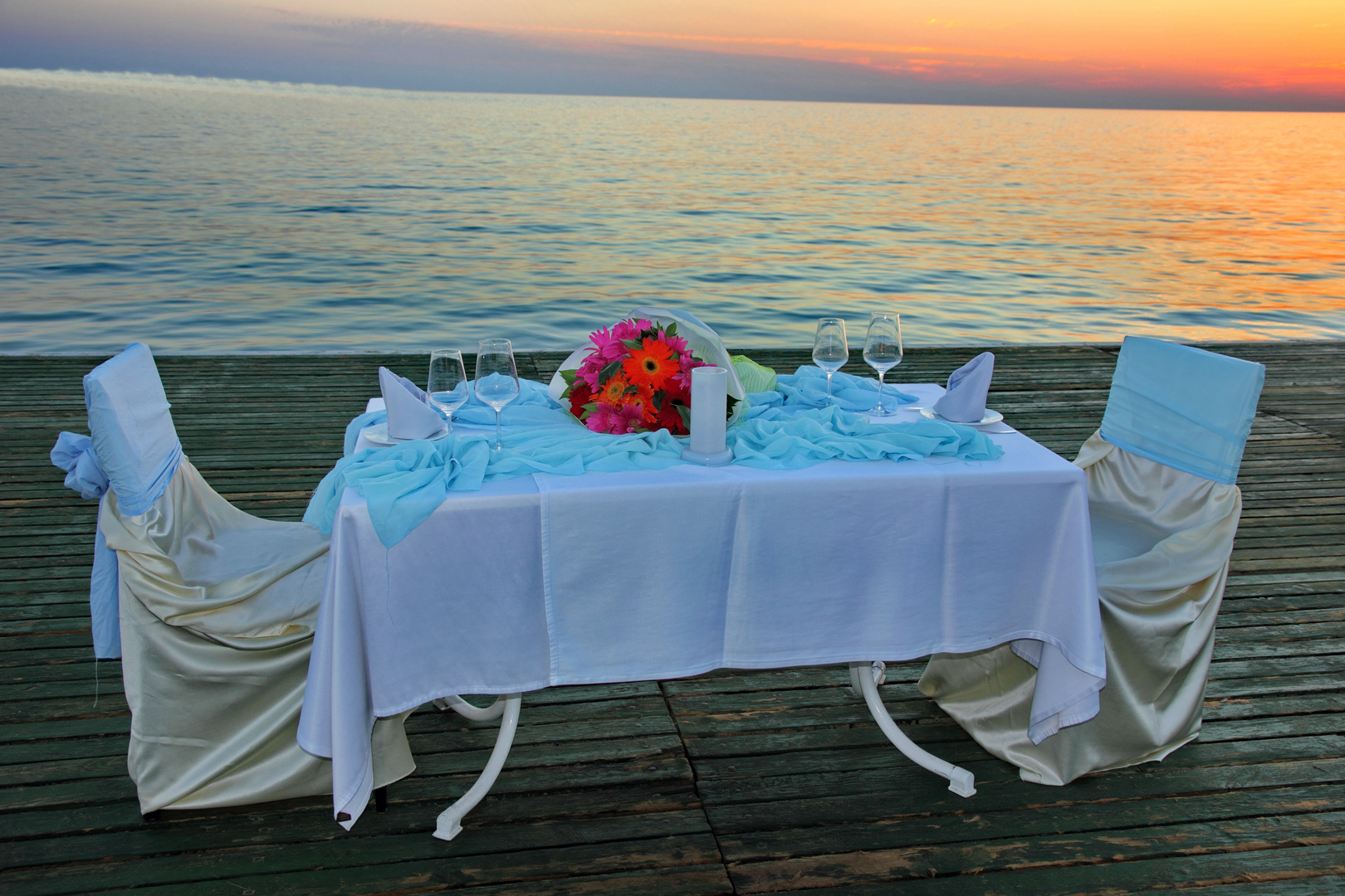 es k nnte ein romantischer abend werden foto bild landschaft meer strand omin93. Black Bedroom Furniture Sets. Home Design Ideas