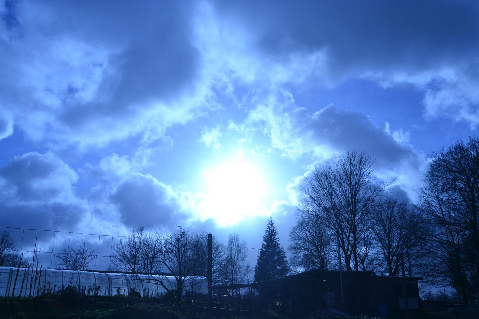 es scheint die Sonne in Beyenburg