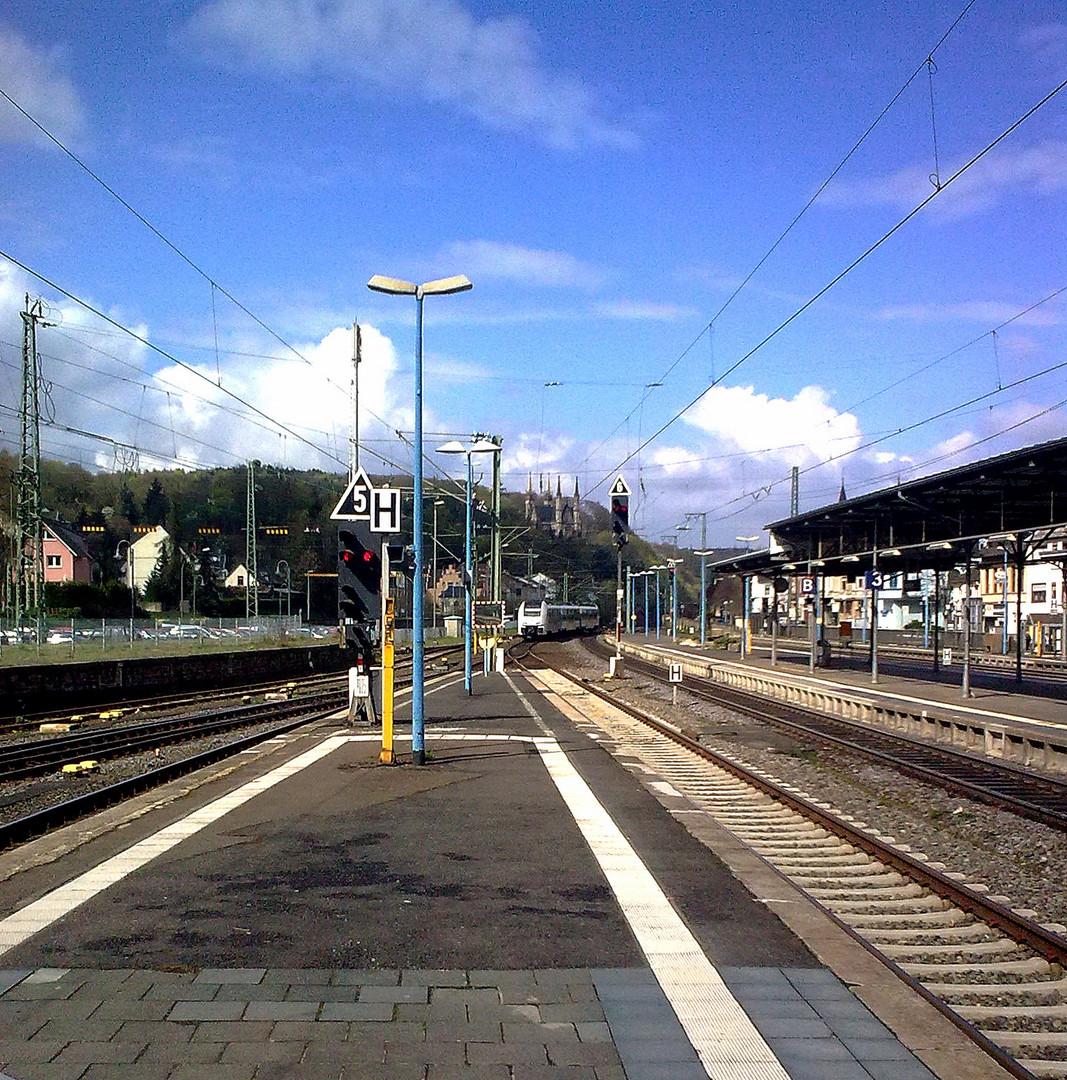 es war einmal ein Bahnhof