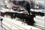 Es war einmal Winter, die Eisenbahn und Schnee