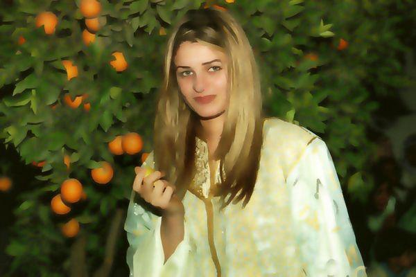 Es war einmal...Esma im Orangenwald
