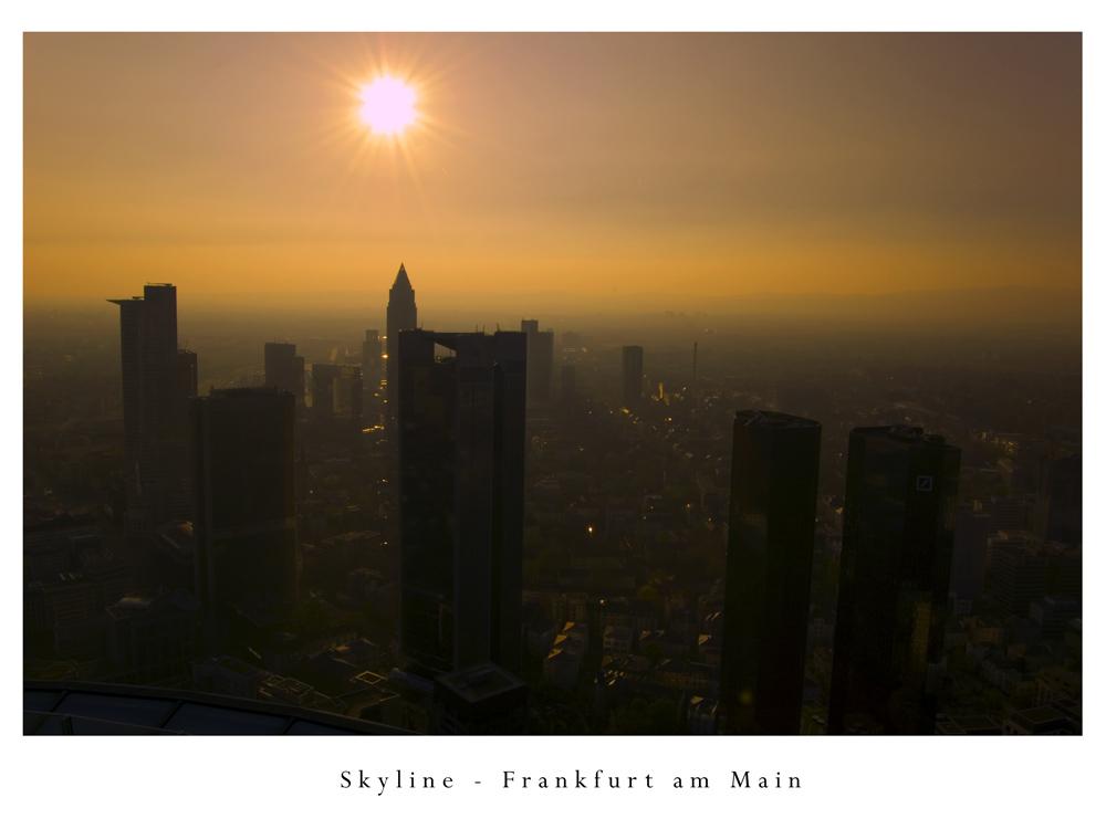 Es war heiss in Frankfurt