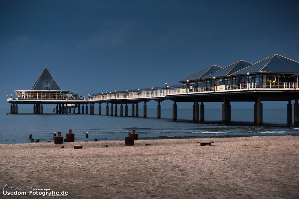 Es war heute doch ein kleiner Sonnenstrahl an der Seebrücke Heringsdorf