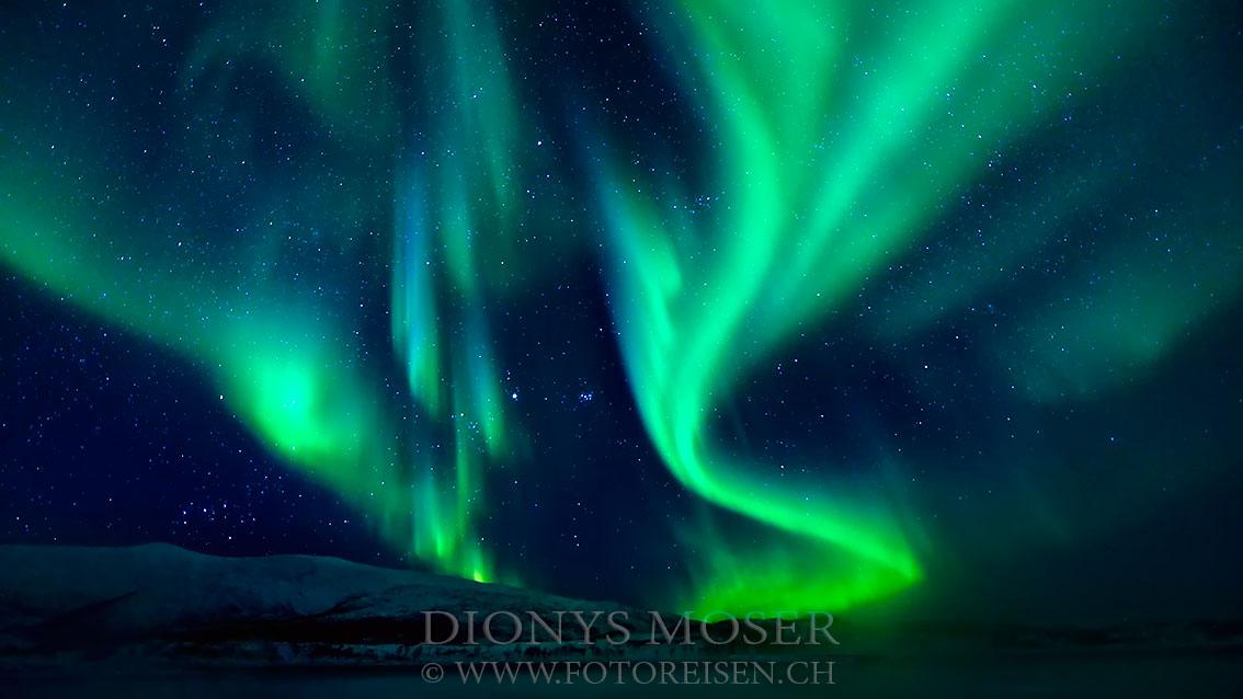 Es war was los - Nordlicht in Norwegen III