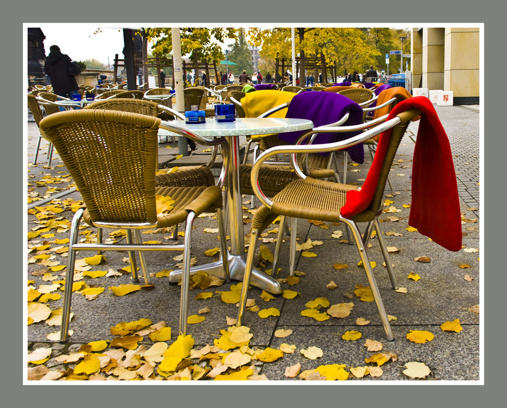 Es wird kalt: Herbst in Berlin