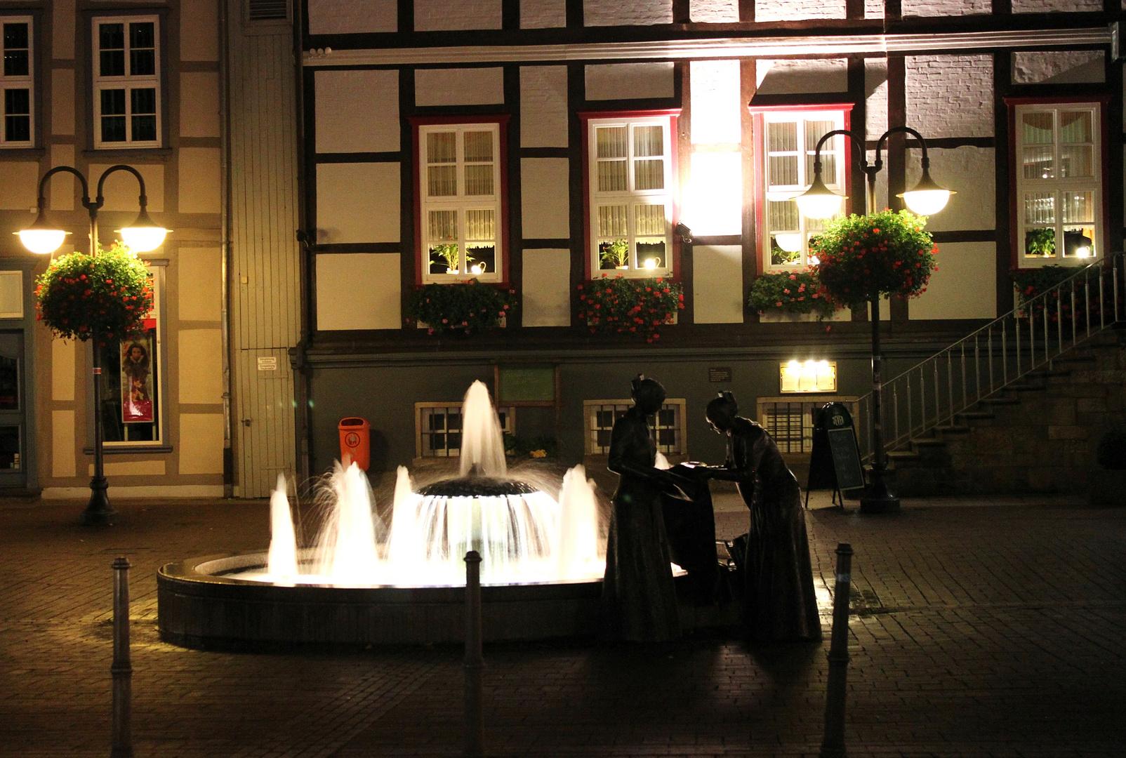 Es wird Nacht in der Jeetzelstadt ......