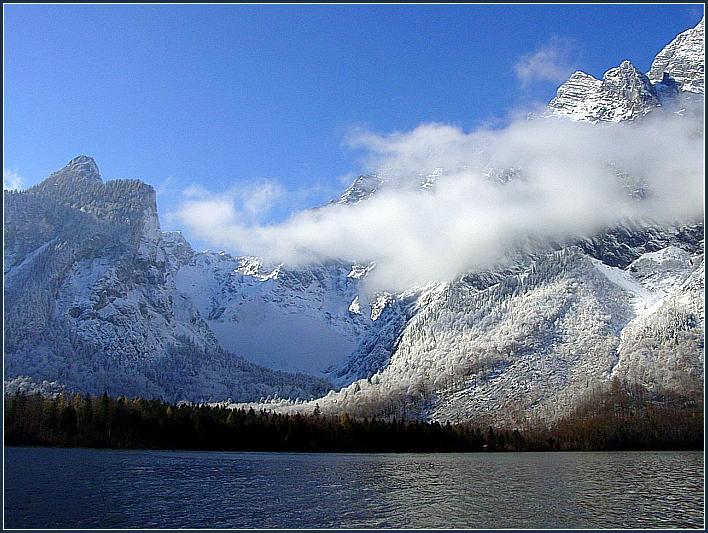 Es wird Winter in den Bergen