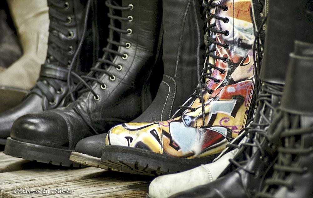 ...esas botas 3...