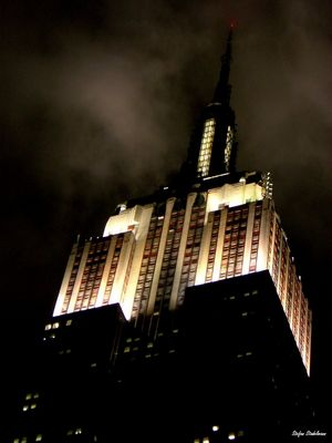 ESB at night
