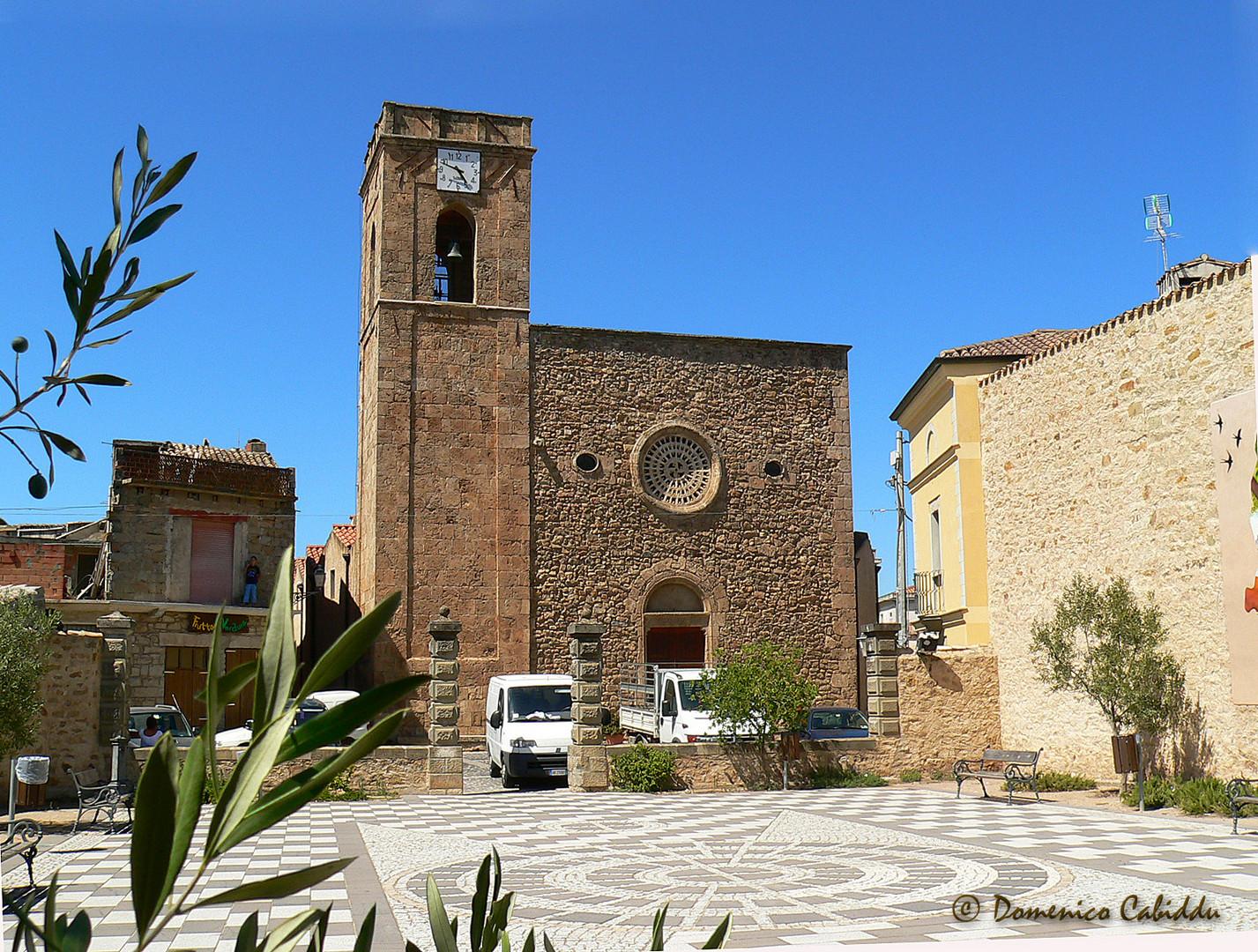 Escalaplano (parrocchiale san Sebastiano)