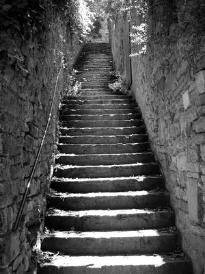 Escalator à l'ancienne