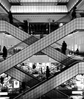 Escalator du Bon marché