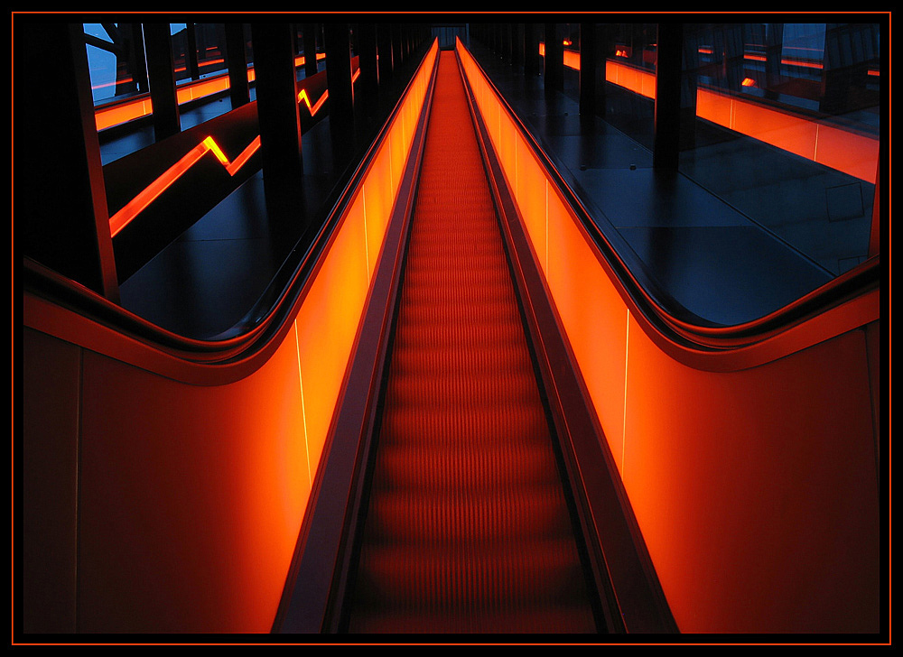 escalator out of hell