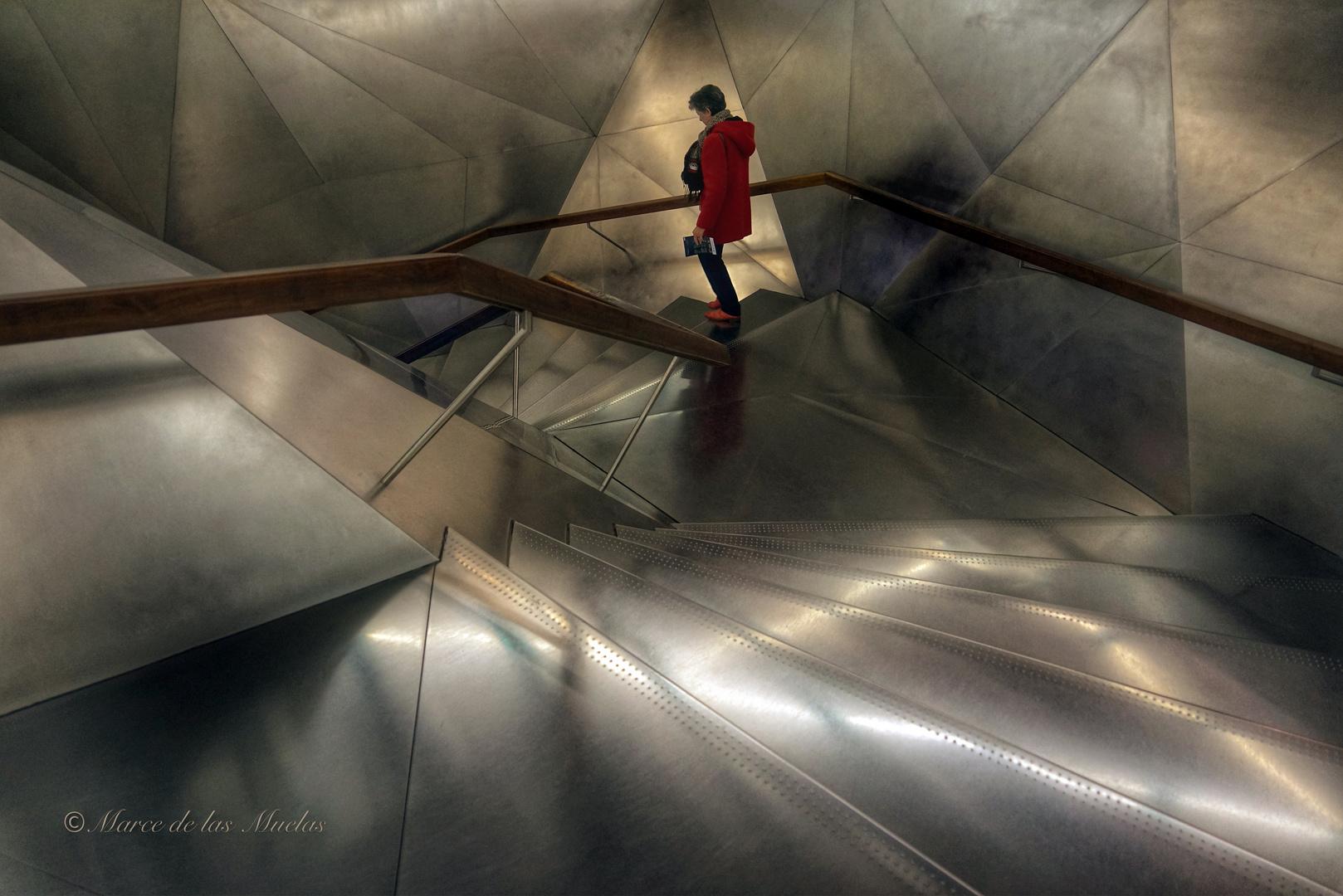 Escalera Caixa Forum Madrid