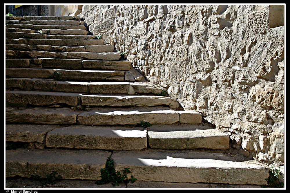 Escalera de piedra imagen foto arquitectura motivos - Escalones de piedra ...