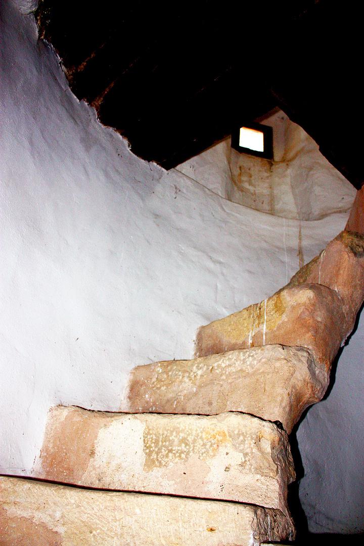 Escalera de un molino