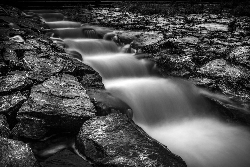 escalera del agua