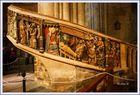 Escalera del Coro de  la Iglesia Santa Maria de Morella