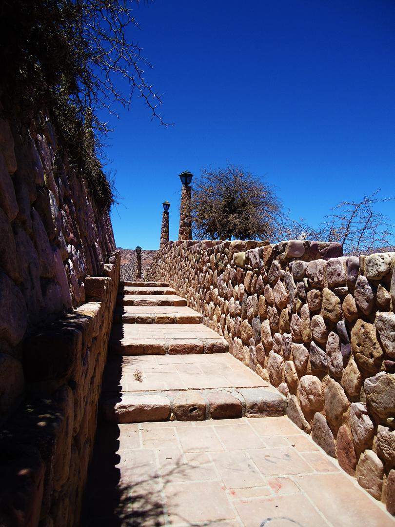 Escalera del monumento de la Independencia (Humahuaca - Jujuy - Argentina)