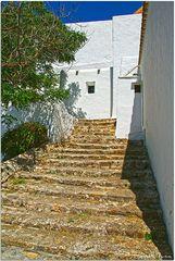 Escaleras a Església de Sant Miquel de Balansat