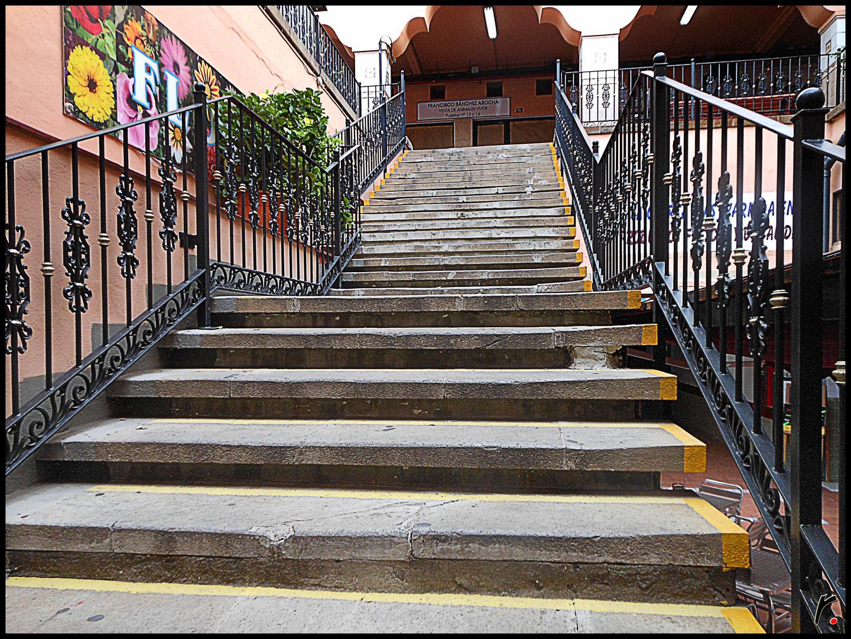 Escaleras del mercado