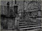 Escaleras Iglesia de Santa Maria en Guareña (Badajoz)