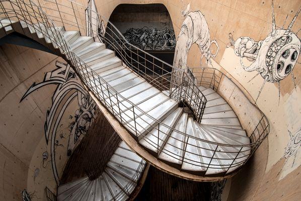 Escaleras y Dibujos