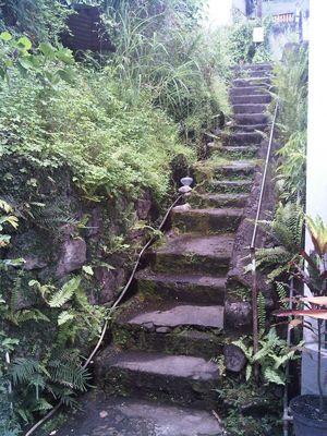 escalier du 19ème siècle à Basse-terre