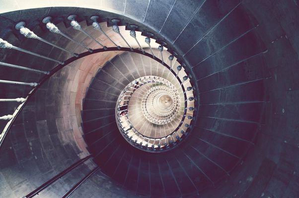Escalier du sud