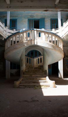 Escalier Héocoidal